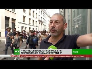 Incidents dans le cortège parisien contre le pass sanitaire : le témoignage de Faouzi Lellouche