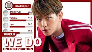 SuperM - We Do (Line Distribution)