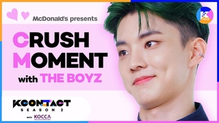 [KCON STUDIO x McDonald's] McDonald's Presents Crush Moment with THE BOYZ♥