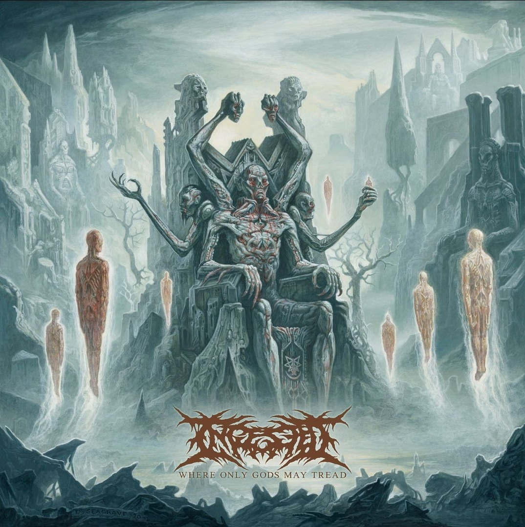 Ingested - Where Only Gods May Tread