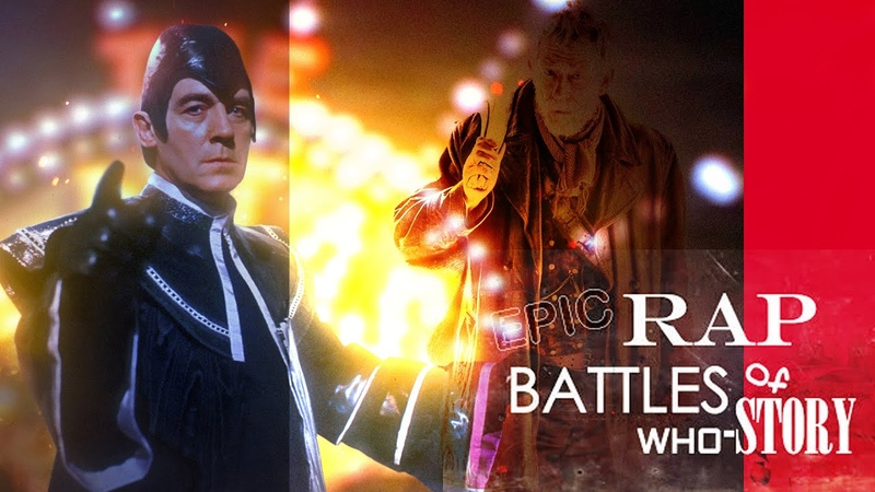 The War Doctor vs The Valeyard