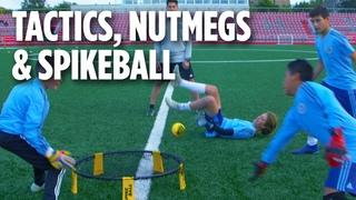 Tactics, Nutmegs & Spikeball | ACADEMY INSIDE TRAINING