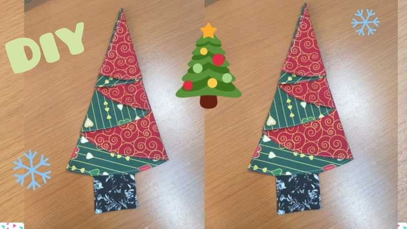 GUARDANAPO ÁRVORE DE NATAL PASSO A PASSO DIY Christmas napkin