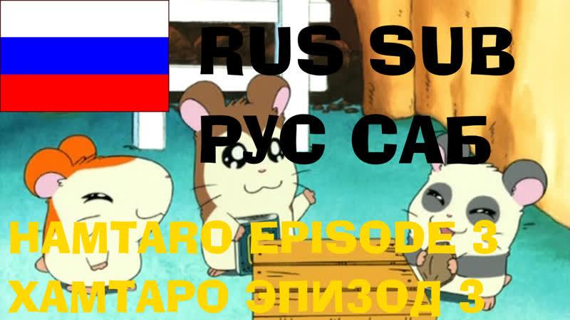 Hamtaro S01E03 Хамтаро Calling All Ham Hams Призыв Хом хомов Rus subbed Русские субтитры