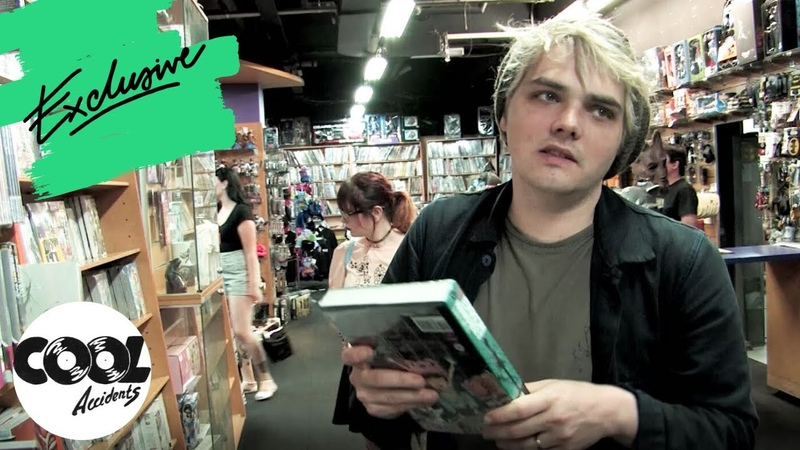 Comic Book Shopping With My Chemical Romances Gerard Way | Cool Accidents