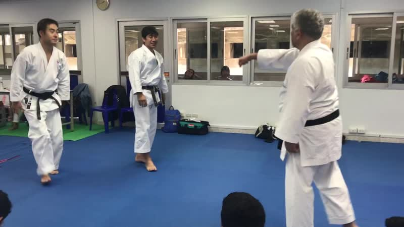 Hangetsu details by Naka Shihan 2019 part 5