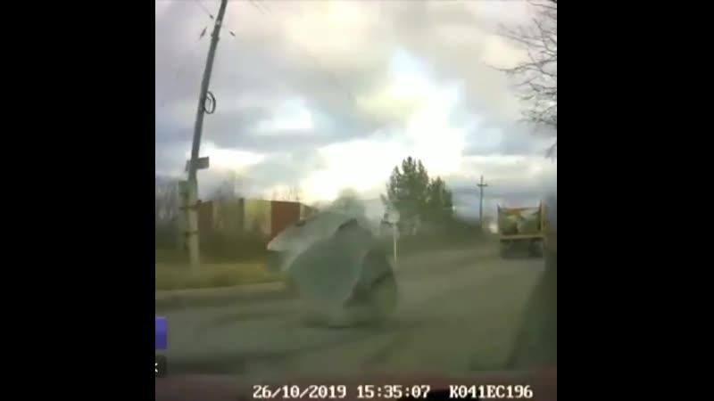 Посыпка дорог Уральским щебнем