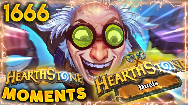 DUELS IS HERE And It Is TOTAL MADNESS Hearthstone Daily Moments Ep 1666