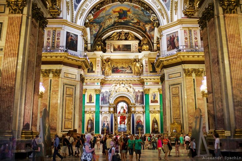 Санкт - Петербургский Исаакиевский собор внутри | Соборы | 538x807
