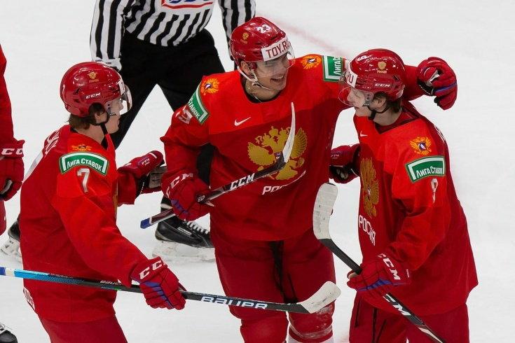 Россия в овертайме обыграла Швецию на МЧМ по хоккею (Видео)