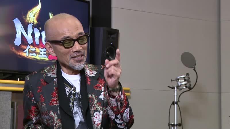 『仁王2』「藤吉郎」役⁄竹中直人 アフレコメイキング映像