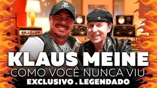 Scorpions - Klaus Meine Por Dentro com Paulo Baron