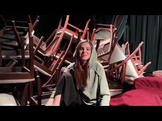 Проект «lичность».превью. аня карпунова актриса театра.