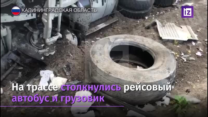 Под Калининградом в ДТП с автобусом погибли семь человек