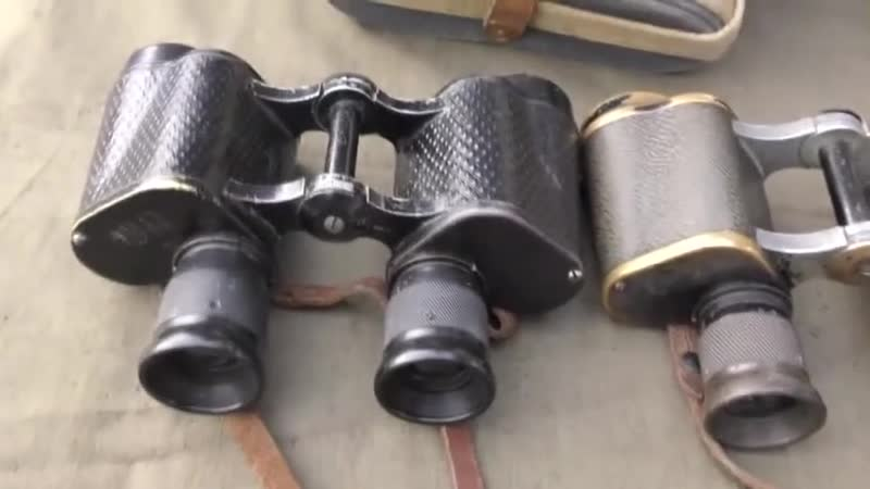 Офицерский бинокль РККА 1944 Red Army officers binoculars 1944