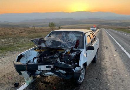 Столкновение двух автомобилей в КЧР унесло жизнь мужчины