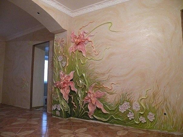 Безумно красивый декор стен