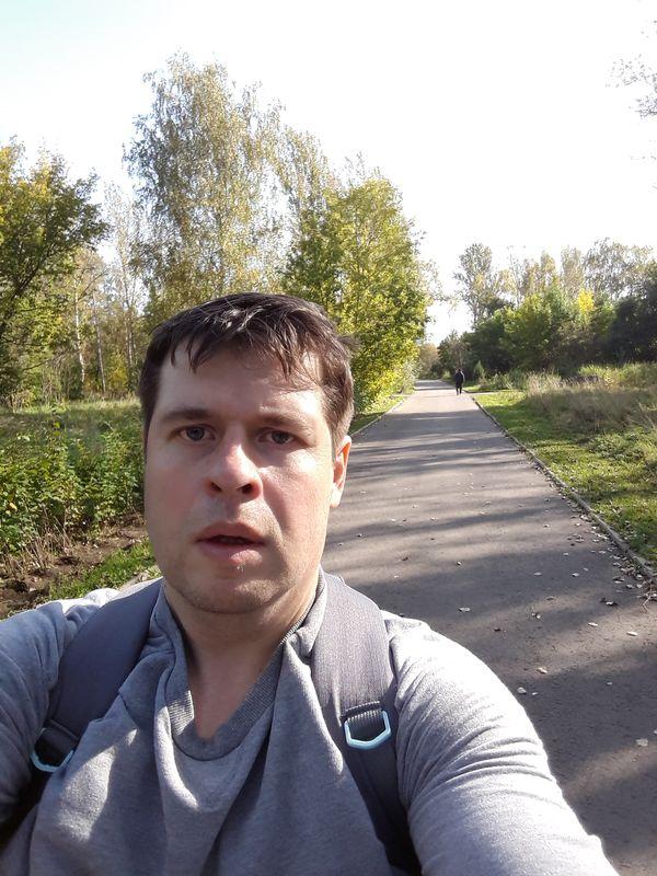 12400 шагов по парку в Строгино. 90 минут