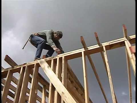 Ларри Хон серия 3 Крыши Стропилы Крыши кровля Видеоприложение к книге Очень эффективный плотник