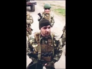 Азербайджанский солдат обращается к армянам
