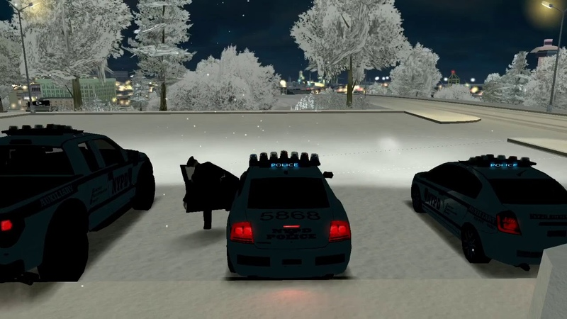 WIP ELM Setting on New York Police Department car pack