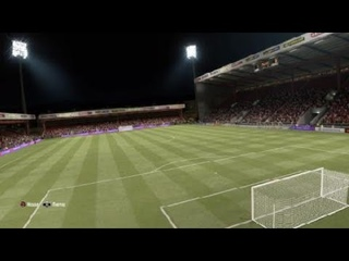 FIFA 21 Штрафной удар! 35 метров до ворот.