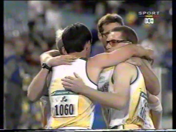Sydney 2000 Paralympic Games Mens T46 4x400m Final poor quality