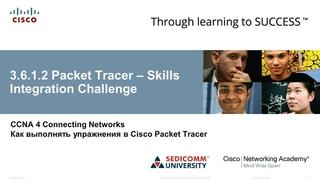Курс Молодого Бойца Часть 4 2020 CCNA 4 CN  Packet Tracer - Отработка практических навыков
