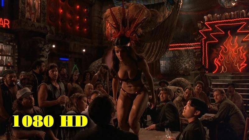 Сальма Хайек Танец От заката до рассвета 1995 Момент из фильма 1080p