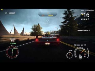 Need for Speed Rivals PC - Ferrari F50 Gameplay