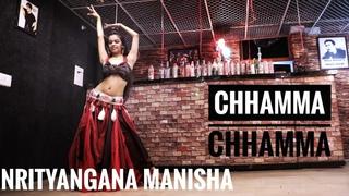 """Chamma chamma"" - Nrityangana Manisha    Bellydance fusion choreography"
