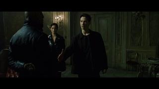"""Момент ИЗ """"Матрица"""": Это честь для меня. Нет, честь для меня."""