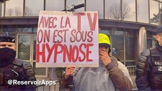 «C'est vous qui avez ruiné le mouvement des gilets» Les Gilets Jaunes arrivent devant TF1