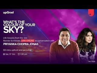 In Conversation with Priyanka Chopra & Ronnie Screwvala   upGrad