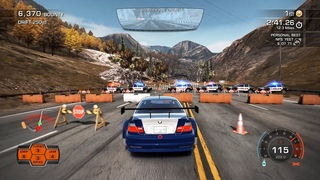 Need For Speed Hot Pursuit Remastered - BMW M3 GTR In Burger King Challenge