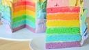 Радужный торт ☆ Радужный CandyBar ☆ Rainbow cake