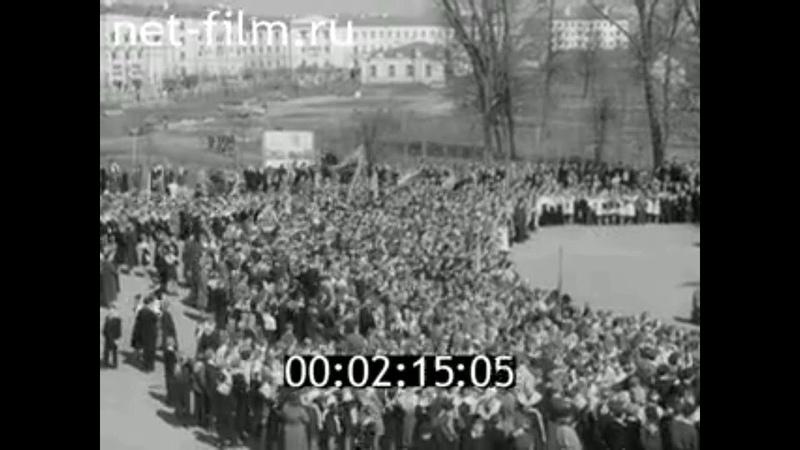 1960г Новгород прием в пионеры