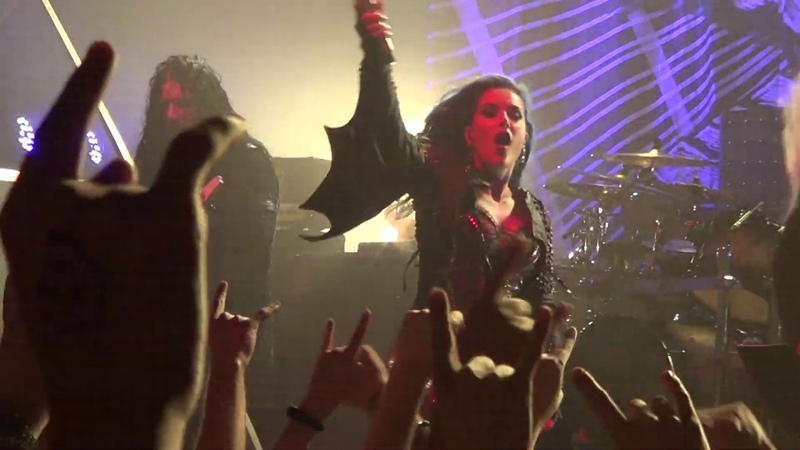 Arch Enemy The World Is Yours live in Minsk 14 07 19