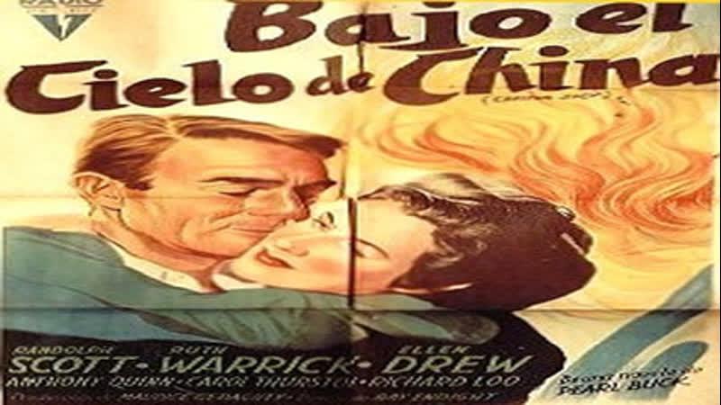 Cine Clásico.-Bajo el Cielo de China.- (1945)-Español