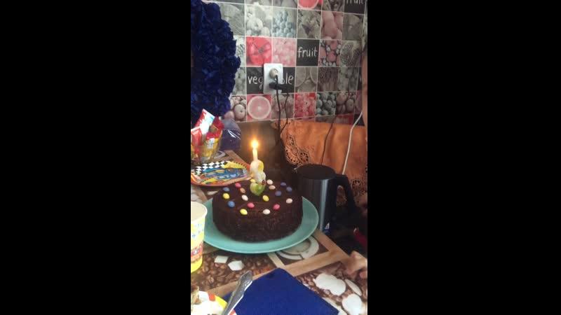 День рождения у сынульки😍