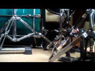 Mark Rivas - Tama Iron Corba Twin Pedal Power Glide